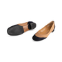 Authentic Second Hand Chanel 2-Toned Flats (PSS-804-00001) - Thumbnail 4