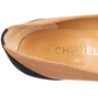 Authentic Second Hand Chanel 2-Toned Flats (PSS-804-00001) - Thumbnail 6
