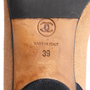Authentic Second Hand Chanel 2-Toned Flats (PSS-804-00001) - Thumbnail 7