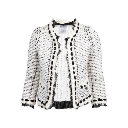 Authentic Second Hand Chanel Spring 2005 Sequinned Tweed Jacket (PSS-200-01824)
