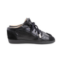 Authentic Second Hand Chanel Suede Cap Toe Sneakers (PSS-190-00137) - Thumbnail 2
