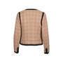 Authentic Second Hand Chanel Houndstooth Woven Jacket (PSS-200-01844) - Thumbnail 1