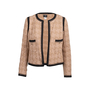 Authentic Second Hand Chanel Houndstooth Woven Jacket (PSS-200-01844) - Thumbnail 0