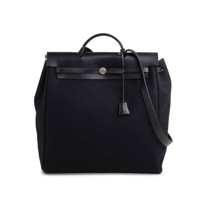 Authentic Second Hand Hermès Herbag MM 2 in 1 (PSS-627-00006)