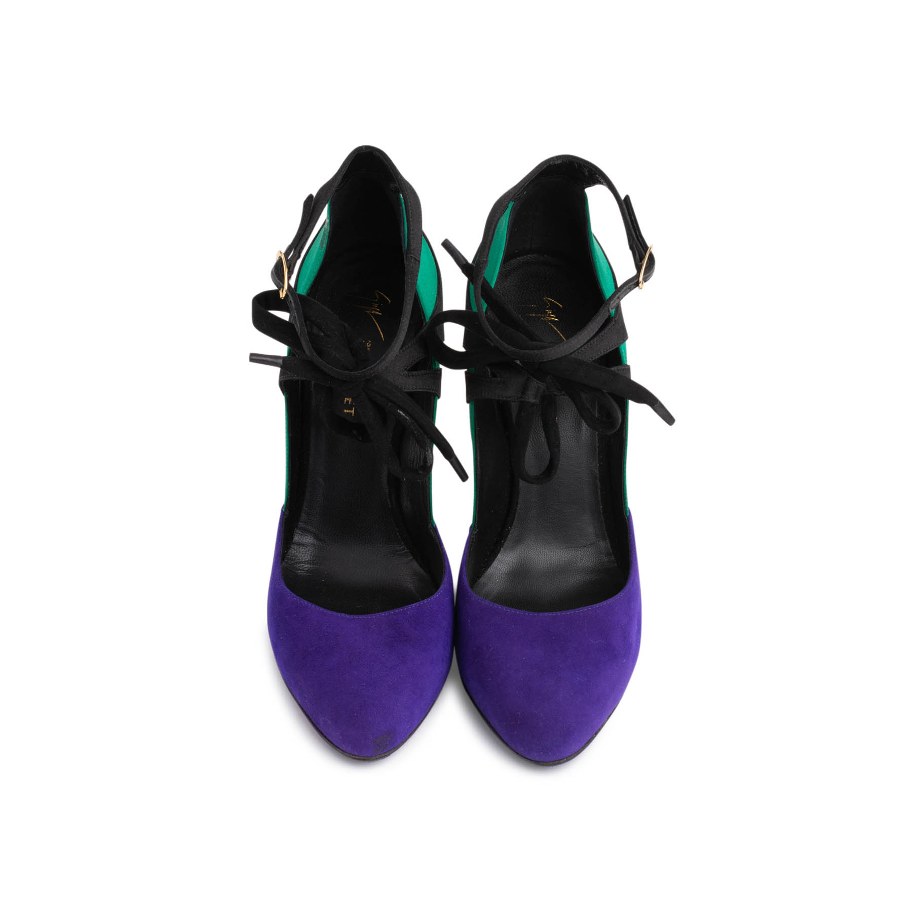 Morgan /& Milo Ginger Purple Leather Mary Jane Sneakers