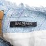 Authentic Second Hand Balmain Frayed Tweed Mini Dress (PSS-795-00001) - Thumbnail 3