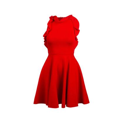 Authentic Second Hand Giambattista Valli Ruffle Knit Jersey Dress (PSS-795-00012)