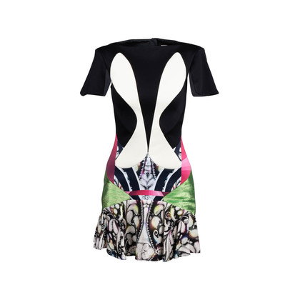 Authentic Second Hand Peter Pilotto Boatneck Printed Dress (PSS-795-00050)