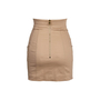 Authentic Second Hand Balmain Lace-Up Mini Skirt (PSS-795-00002) - Thumbnail 1