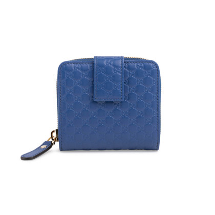 Authentic Second Hand Gucci Micro Guccissima Wallet (PSS-059-00059)