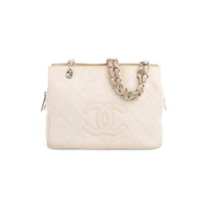 Authentic Vintage Chanel Petite Timeless Shopping Tote (PSS-797-00001)
