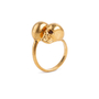 Authentic Second Hand Alexander McQueen Double Skull Ring (PSS-094-00024) - Thumbnail 1