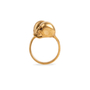Authentic Second Hand Alexander McQueen Double Skull Ring (PSS-094-00024) - Thumbnail 3
