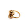 Authentic Second Hand Alexander McQueen Double Skull Ring (PSS-094-00024) - Thumbnail 4