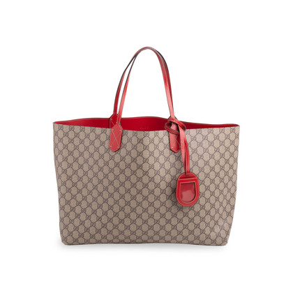 Authentic Second Hand Gucci Supreme Reversible Tote Bag (PSS-332-00046)