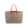 Authentic Second Hand Gucci Supreme Reversible Tote Bag (PSS-332-00046) - Thumbnail 2