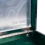 Authentic Second Hand Edie Parker Chevron Acrylic Clutch (PSS-583-00014) - Thumbnail 5