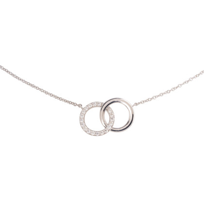 Authentic Second Hand Tiffany & Co Double Interlocking Circles Pendant (PSS-801-00003)