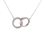 Authentic Second Hand Tiffany & Co Double Interlocking Circles Pendant (PSS-801-00003) - Thumbnail 2
