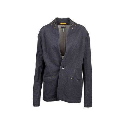 Authentic Second Hand Armani Jeans Contrast Stitch Jacket (PSS-801-00011)
