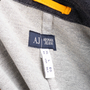 Authentic Second Hand Armani Jeans Contrast Stitch Jacket (PSS-801-00011) - Thumbnail 3