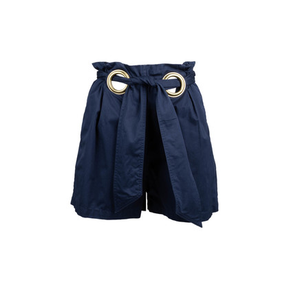 Authentic Second Hand Raoul Eyelet Paperbag Shorts (PSS-449-00024)