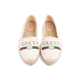 Authentic Second Hand Gucci Logo Canvas Espadrilles (PSS-824-00013) - Thumbnail 0