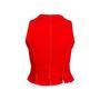 Authentic Second Hand Bazar De Christian Lacroix Denim Vest (PSS-304-00061) - Thumbnail 1