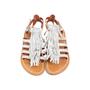 Authentic Second Hand K. Jacques Corsaire Fringe Sandals (PSS-097-00326) - Thumbnail 0