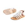 Authentic Second Hand K. Jacques Corsaire Fringe Sandals (PSS-097-00326) - Thumbnail 4