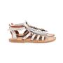 Authentic Second Hand K. Jacques Corsaire Fringe Sandals (PSS-097-00326) - Thumbnail 1