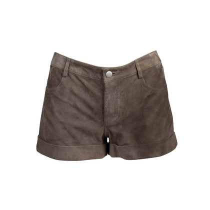 Authentic Second Hand Haute Hippie Suede Shorts (PSS-097-00372)