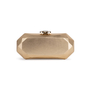 Authentic Second Hand Chanel Geometric Structured Clutch (PSS-097-00298) - Thumbnail 0
