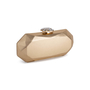 Authentic Second Hand Chanel Geometric Structured Clutch (PSS-097-00298) - Thumbnail 1