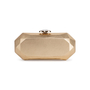 Authentic Second Hand Chanel Geometric Structured Clutch (PSS-097-00298) - Thumbnail 2