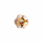 Authentic Second Hand Chanel Camelia Cacholong Ring (PSS-097-00303) - Thumbnail 9