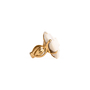 Authentic Second Hand Chanel Camelia Cacholong Ring (PSS-097-00303) - Thumbnail 6