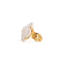 Authentic Second Hand Chanel Camelia Cacholong Ring (PSS-097-00303) - Thumbnail 8