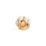 Authentic Second Hand Chanel Camelia Cacholong Ring (PSS-097-00303) - Thumbnail 7