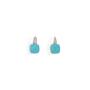 Authentic Second Hand Pomellato Capri Turquoise Diamond Earrings (PSS-097-00299) - Thumbnail 0
