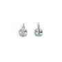 Authentic Second Hand Pomellato Capri Turquoise Diamond Earrings (PSS-097-00299) - Thumbnail 1