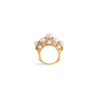Authentic Second Hand Chanel Baroque Large Quilted Ring (PSS-097-00307) - Thumbnail 0