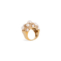 Authentic Second Hand Chanel Baroque Large Quilted Ring (PSS-097-00307) - Thumbnail 1