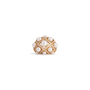 Authentic Second Hand Chanel Baroque Large Quilted Ring (PSS-097-00307) - Thumbnail 4