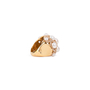 Authentic Second Hand Chanel Baroque Large Quilted Ring (PSS-097-00307) - Thumbnail 6