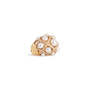 Authentic Second Hand Chanel Baroque Large Quilted Ring (PSS-097-00307) - Thumbnail 5