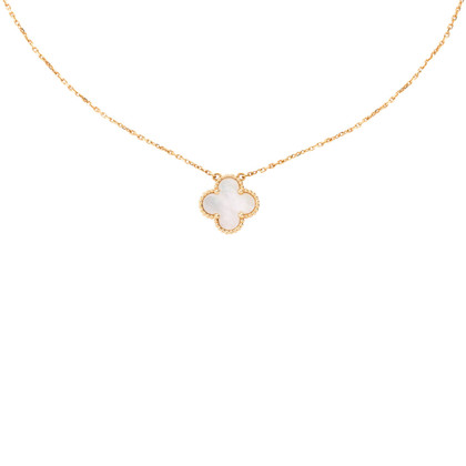 Authentic Second Hand Van Cleef and Arpels Vintage Alhambra Pendant (PSS-059-00064)
