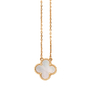 Authentic Second Hand Van Cleef and Arpels Vintage Alhambra Pendant (PSS-059-00064) - Thumbnail 2