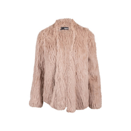 Authentic Second Hand Nicholas Knitted Rabbit Fur Jacket (PSS-065-00008)