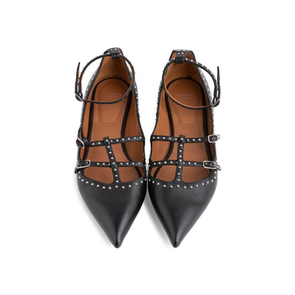 Authentic Second Hand Givenchy Studded Ballet Flats (PSS-065-00015)